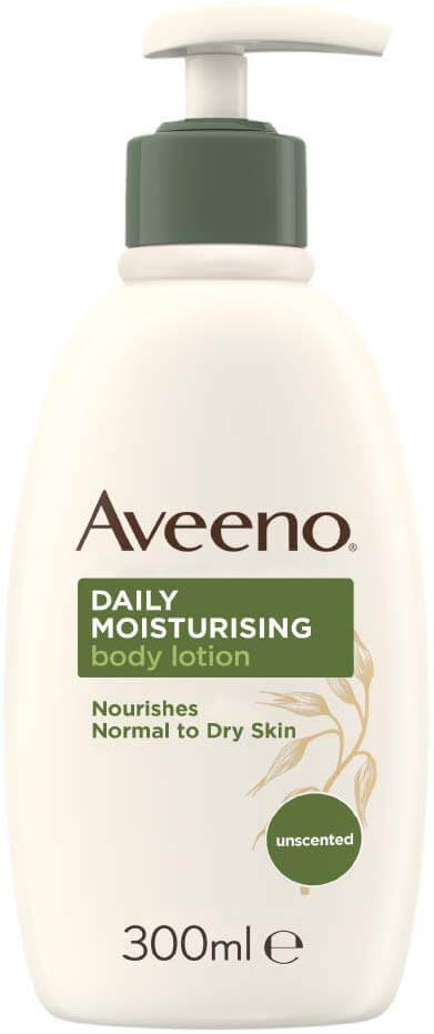 Looking for an affordable aftercare lotion? Check out Aveeno's Unscented Daily Moisturising Body Lotion