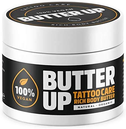 Butter Up Tattoo care rich body butter may be a bit expensive, but users love this stuff