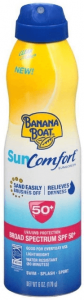 picture of banana boat sun comfort