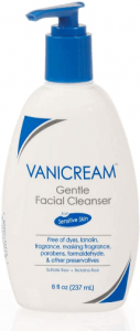 picture of vanicream gentle facial cleanser