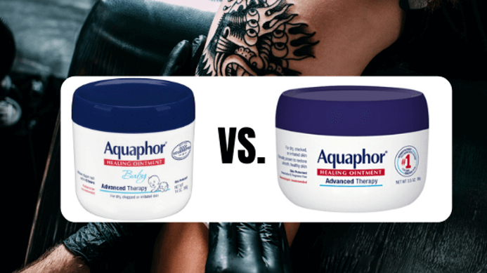 which is better for tattoos - aquaphor baby vs regular ointment