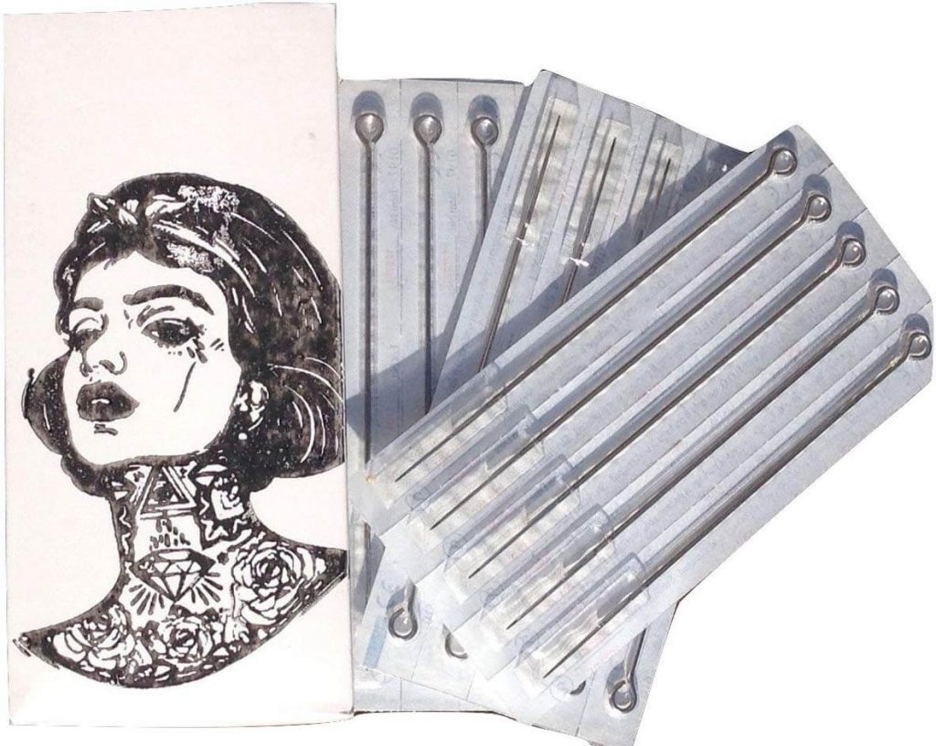 single use needles for hand poke tattoos