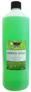 mts antibacterial tattoo green soap