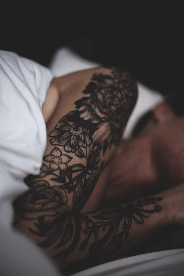 how to sleep with new tattoo