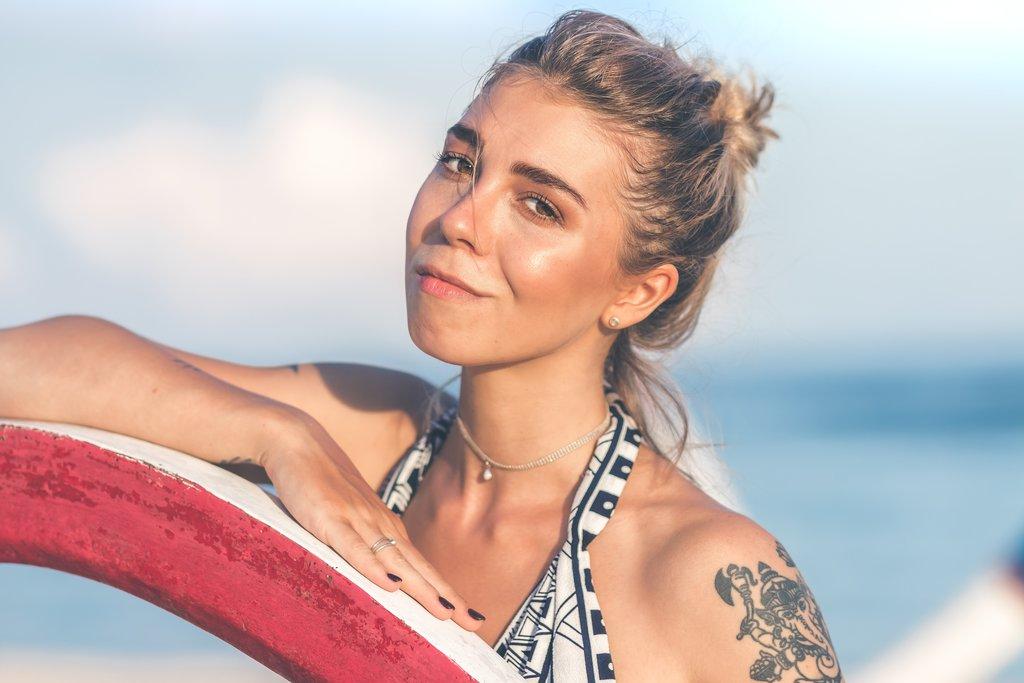 Sunburn on tattoos is bad
